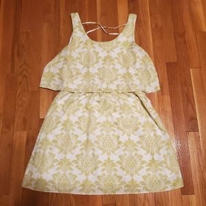 Charming Charlie Pineapple Trapeze Dress